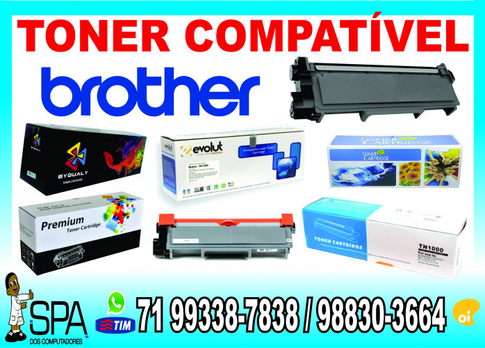 Toner para impressora Laser Brother 2540DW em Salvador Ba