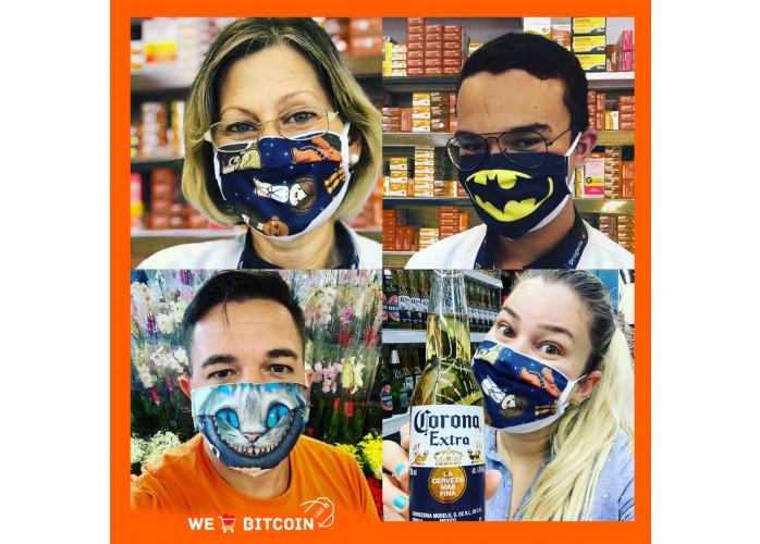 Máscara Facial Personalizada para Prevenção Contra Coronavírus