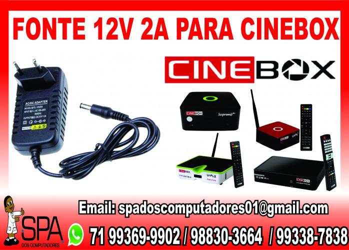 Fonte de alimentação para Receptor CineBox em Salvador Ba