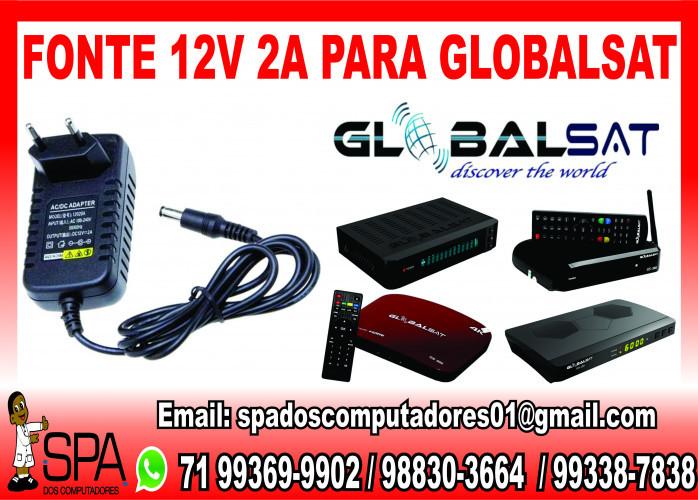 Fonte de alimentação para Receptor GlobalSat em Salvador Ba