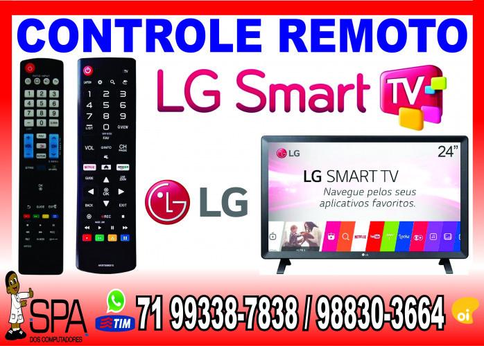Controle Remoto Tv LG Lcd, Plasma, Led e Smart tv em Salvador Ba
