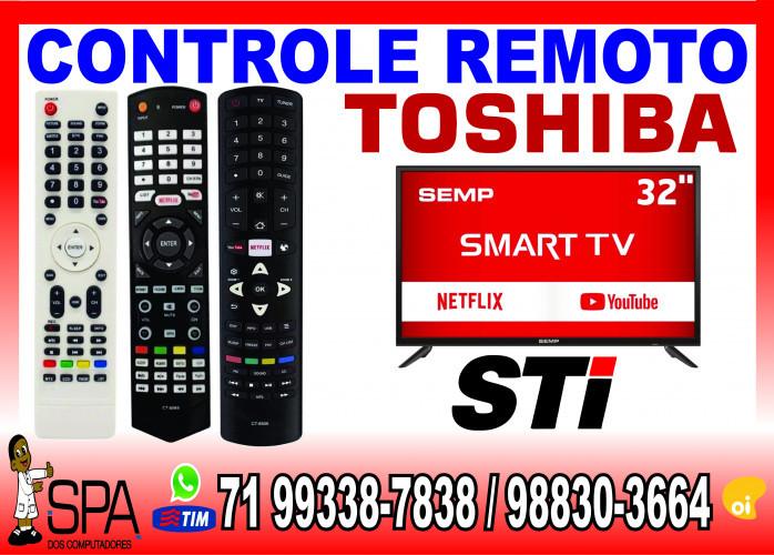 Controle Remoto Tv Semp Toshiba Lcd, Plasma, Led e Smart tv em Salvador Ba