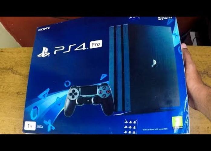 PlayStation 4 pro HD de 1 TB novo com garantia
