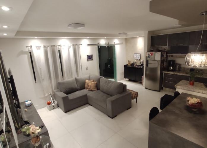 Sobrado em Condomínio Fechado 144 m² em Santo André - Vila Valparaíso.