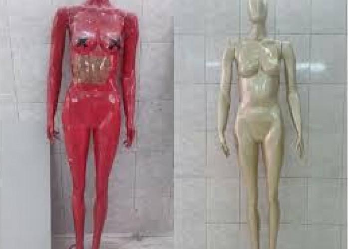 Reforma personalizada de manequins pintura e restauro