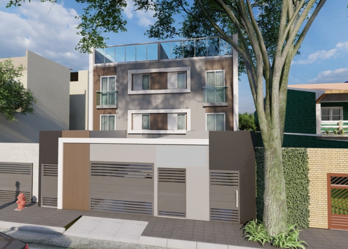 Apartamento Sem Condomínio 2 Dormitórios 44 m² no Bairro Campestre - Santo André.