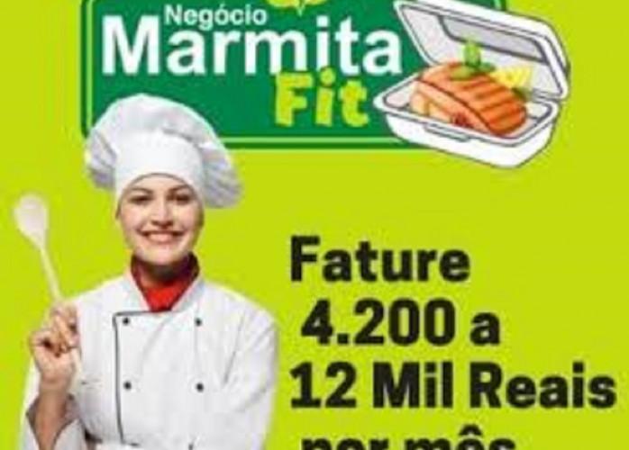 Curso Negócio marmitas fitness.