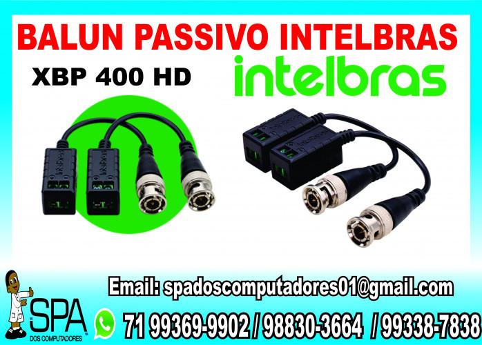 Balun Passivo Xbp 400 Hd Intelbras em Salvador Ba