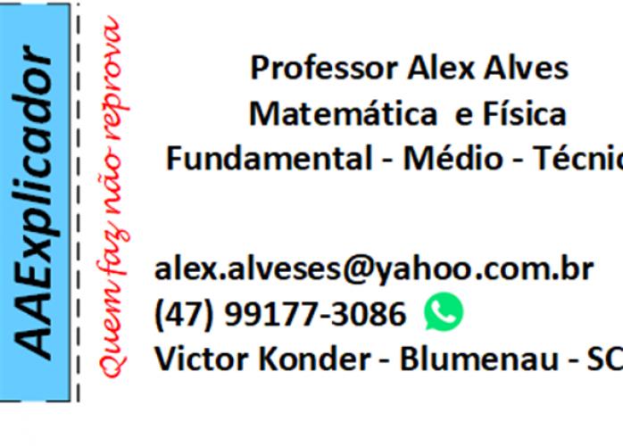 Professor Particular - Aula de Matemática e Física - Blumenau/SC