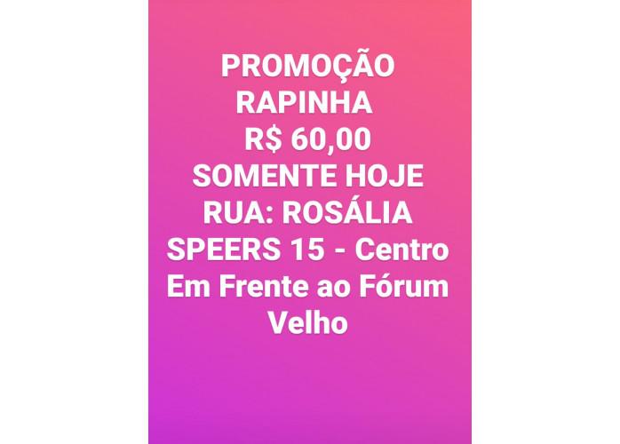 Promoção $$$ 60 Rapidinha na Casa Branca !!!