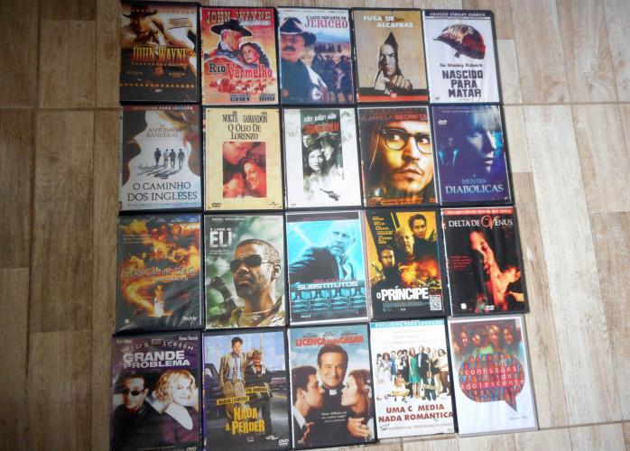 Lote de 20 Filmes em DVD.