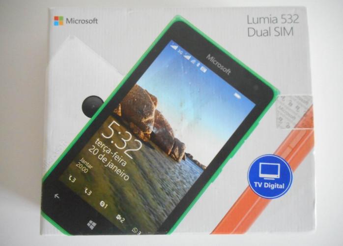 Smartphone Microsoft Lumia 532 8GB Windows Phone *Leia descrição