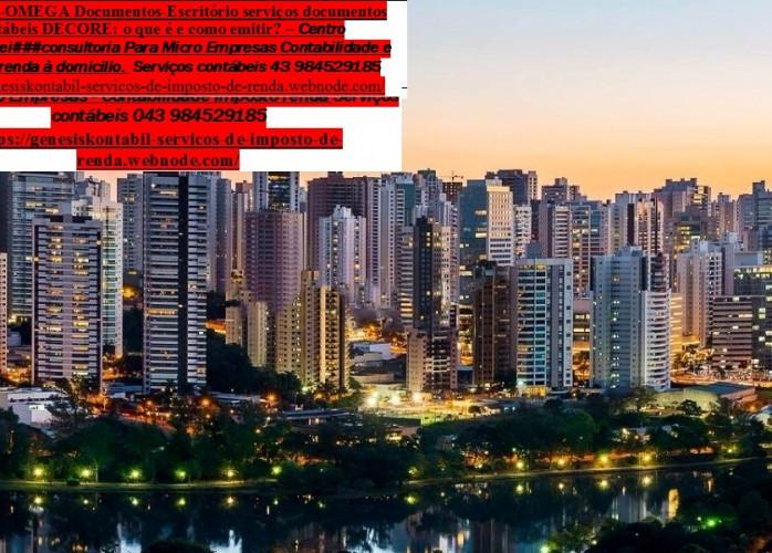 Contabilidade em Londrina – Qualidade com Menor preço Omega  Contábil | Contador – Serviços contábeis  Avenida Paraná