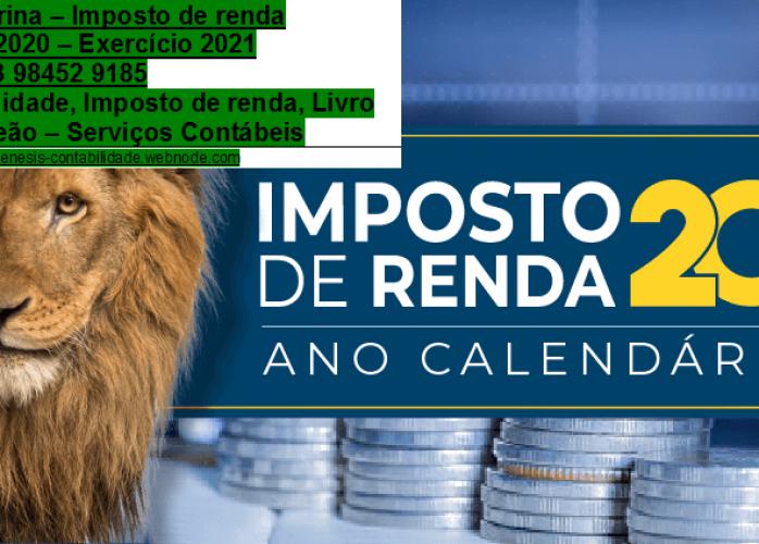 Declaração De Imposto de Renda DIRF2021 Em Gleba Palhano Sobre Investimentos. Como Declarar DIrpf/Livro caixa/Carnê Leão