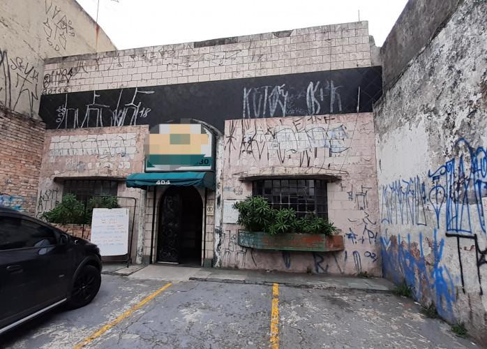 Salão Comercial 597 m² no Centro de Santo André.