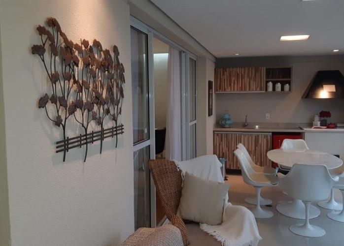 Apartamento 3 Suítes 165 m² no Condomínio Ventura, Bairro Jardim - Santo André.