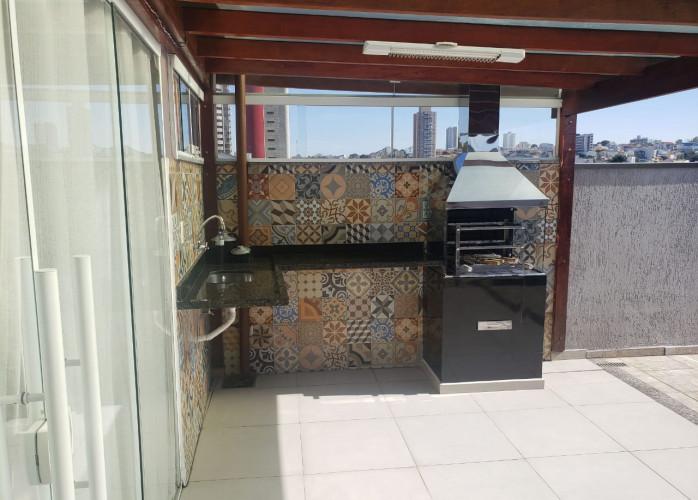 Cobertura Sem Condomínio 128 m² em Santo André - Bairro Jardim.