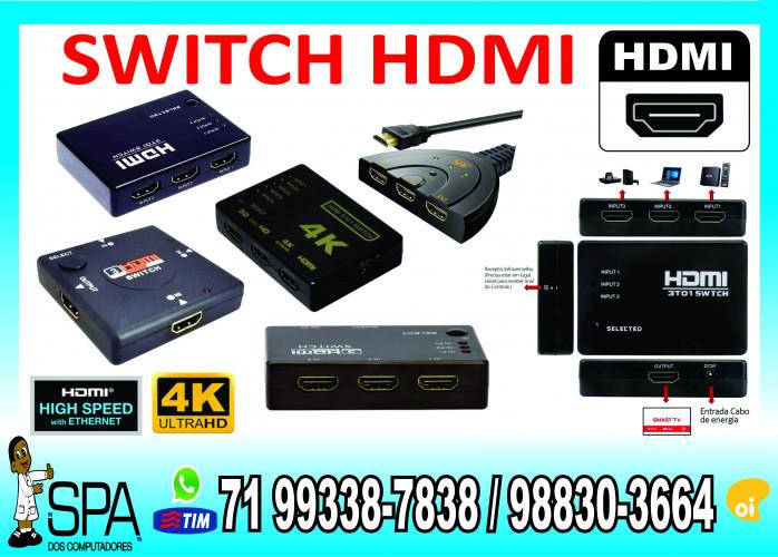 Adaptador Switch Chaveadora HDMI para PS3