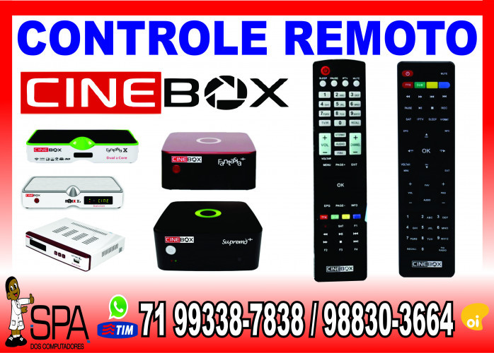 Controle Remoto Cinebox