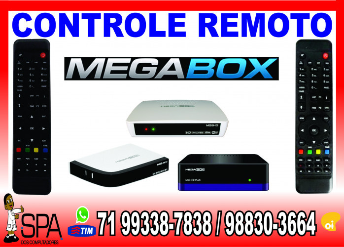 Controle Remoto Megabox