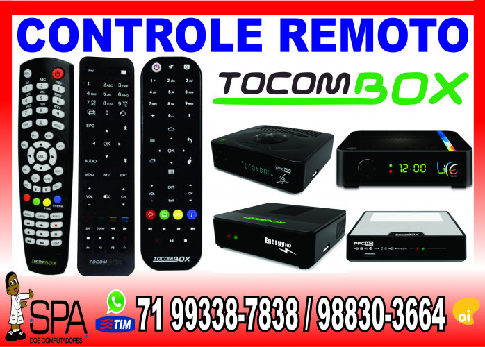 Controle Remoto TocomBox