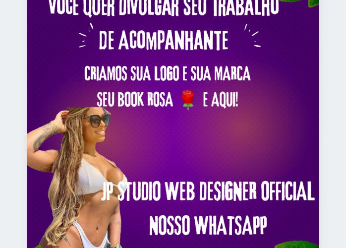 JP STUDIO DESIGNER DIVULGAÇÃO DE ACOMPANHANTES