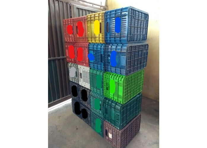 Caixa Plástica  Para Capacidade Para 20 Kg