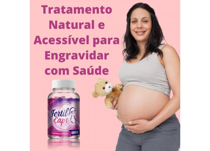 FertilCaps - Melhor Tratamento 100% Natural para Engravidar - Acessível para Todas!
