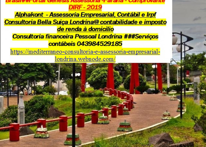 Jardim SanFernando Contador, imposto de renda...