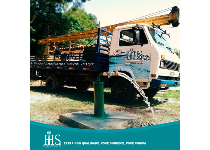 Poços artesianos, manutenção em poços, limpezas e higienização.