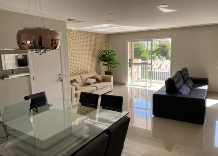Apartamento 3 Suítes 130 m² no Bairro Campestre - Santo André.
