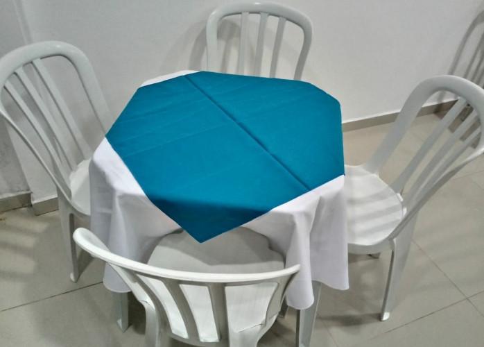 Promoção - Locação de mesas com 4 cadeiras R$ 12,90