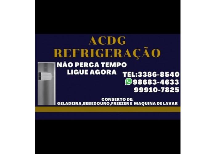 Acdg trabalho com conserto de Geladeira,Freezer,Bebedouro e Maqui