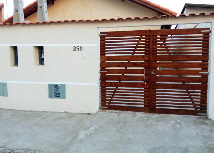 Imovel para financiar em Itanhaém, casa nova na praia.