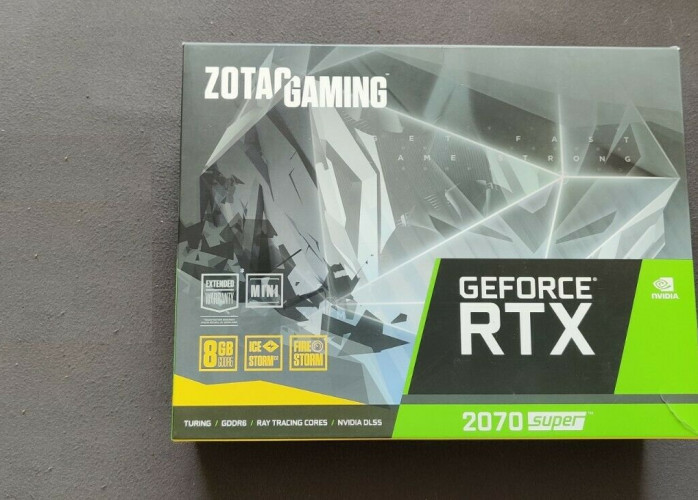 Placa Zotac GeForce Rtx 2070 Super Mini 8GB lacrada, garantia