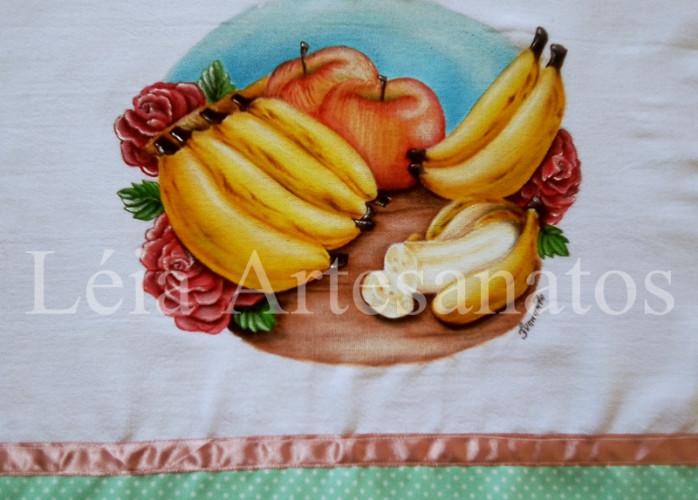 Pintura em tecido panos de prato motivos de Natal
