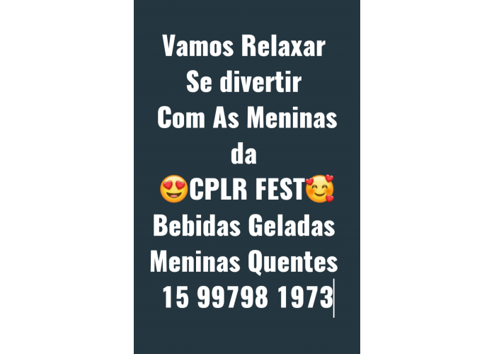 CASA DE MASSAGEM CPLR FEST