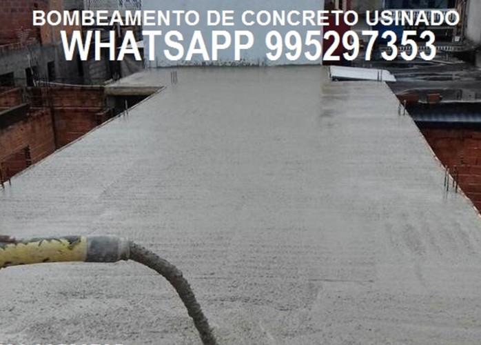 Concreto bombeado para Construção Civil Rio